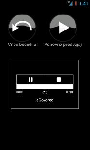 eGovorec - zaslonska slika 3